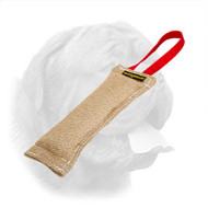 Dependable Jute Bite Tag for Dogue de Bordeaux Puppy Training