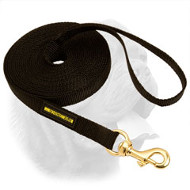 Nylon Dogue de Bordeaux Leash for Training and Tracking