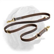 Multipurpose Quality Leather Dogue de Bordeaux Leash