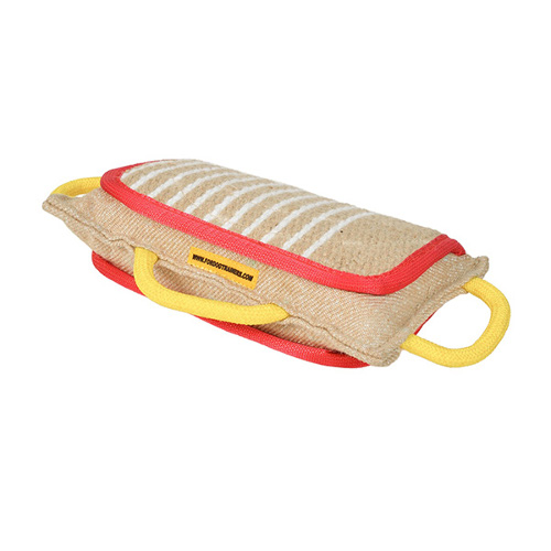 Genuine jute Dogue de Bordeaux training bite pad
