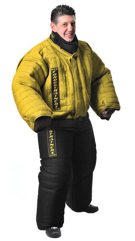 Extra strong body protection bite suit