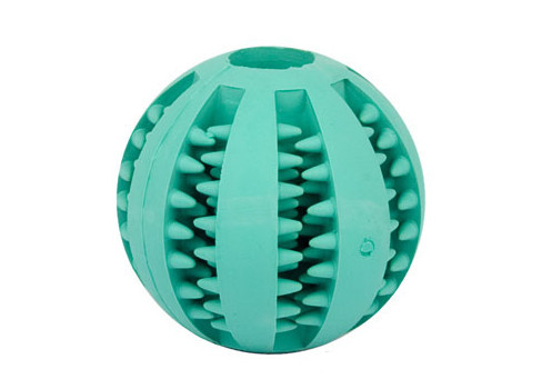 Dogue de Bordeaux training rubber ball
