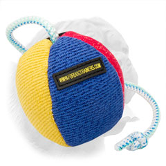 Training Ball on String made of French Linen