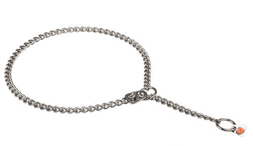 Comfy in use chain collar