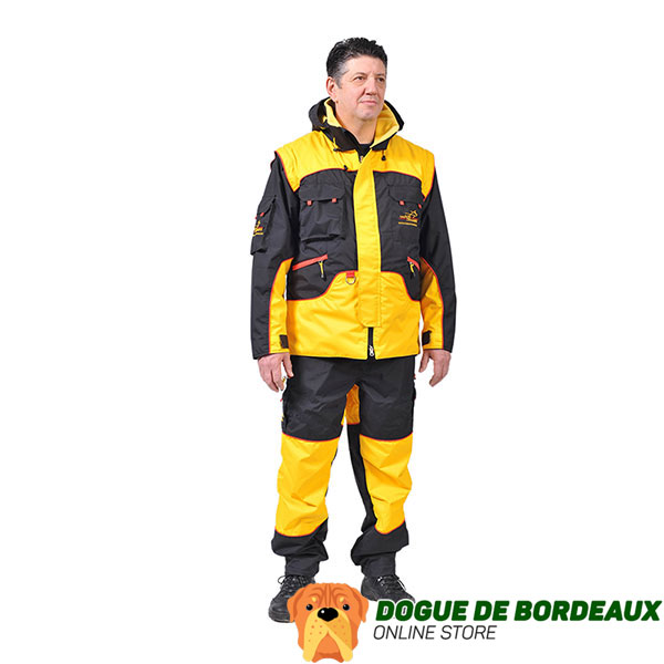Protection Dog Training Suit of Weatherproof Membrane Fabric