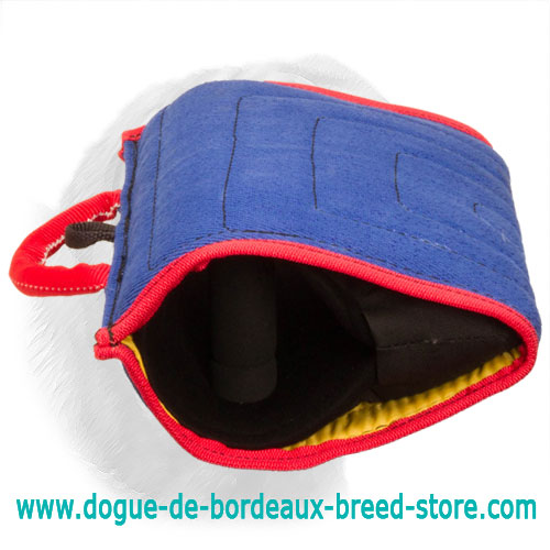 French Linen All in One Quick Reward Sleeve for Young and Adult Dogue de Bordeaux