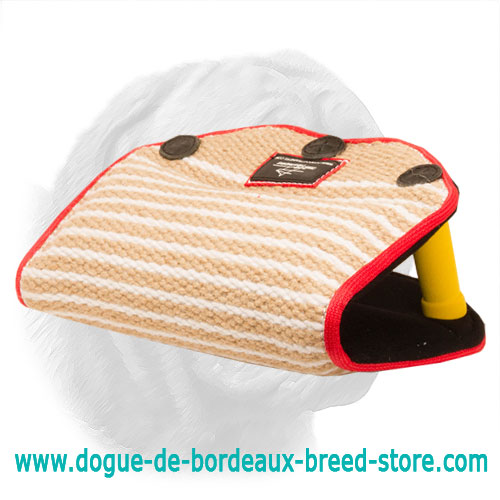 Jute Dogue de Bordeaux Bite Builder for Puppies and Young Dogs