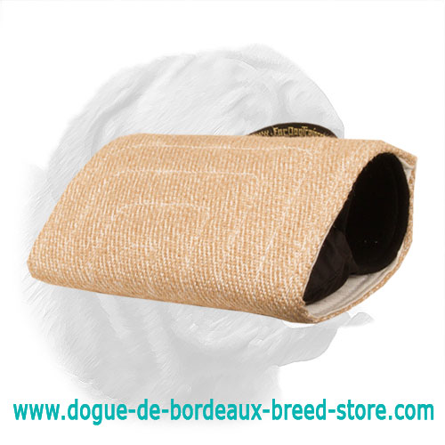 """Two-Fisted"" Dogue de Bordeaux Jute Bite Builder for Advanced Training"