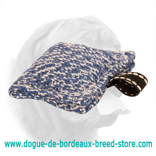 New Dogue de Bordeaux French Linen Bite Pad