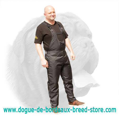 Bite Protection Scratch Pants for Dogue de Bordeaux Training