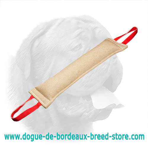 Excellent Jute Dogue de Bordeaux Bite Tag