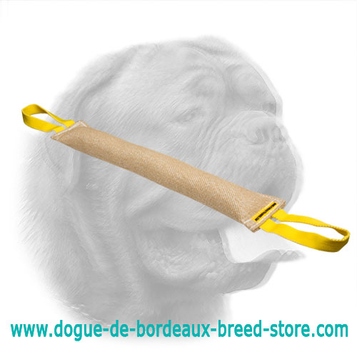 Jute Bite Tug for Training Young Dogs