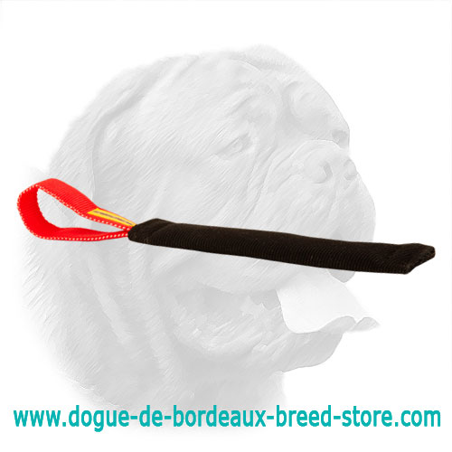 Refined Dogue de Bordeaux French Linen Bite Tug