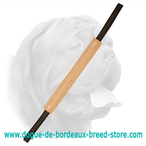 Pocket Size Dogue de Bordeaux Leather Bite Tug
