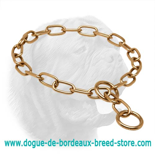 Dependable Curogan Dogue de Bordeaux Choke Collar - 51541(67) 1/9 inch (3.00 mm)