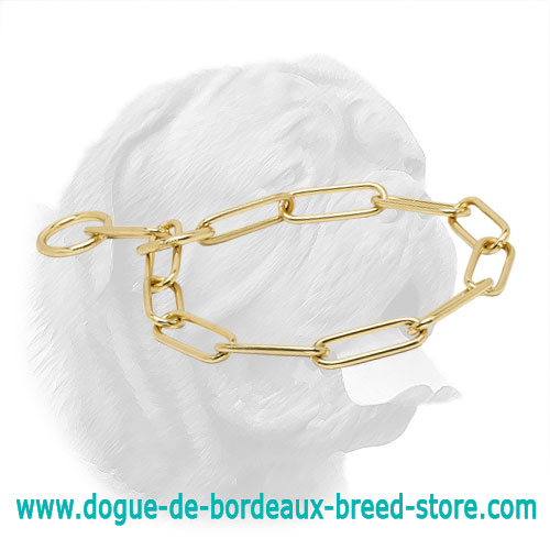 Tremendous Dogue de Bordeaux Brass Fur Saver - 1/6 inch (4 mm)