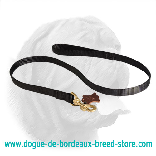 Police tracking Dogue de Bordeaux Leash