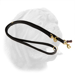 Reliably stitched leash